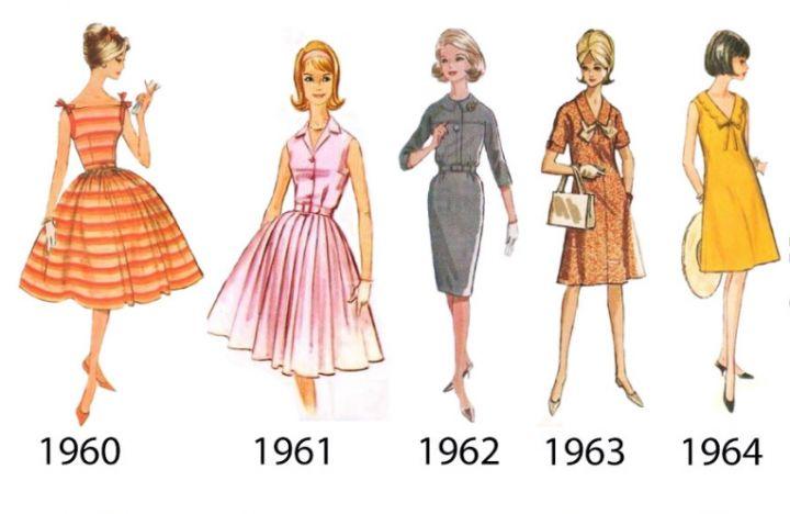Мода 60-х годов. Легендарное десятилетие.