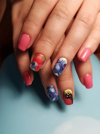 Category of art design patterns for squoval nails