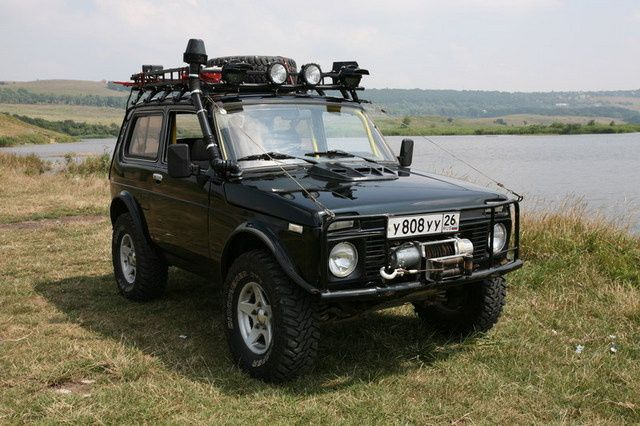 Lada Niva, Russia's equivalent for the British Range Rover!
