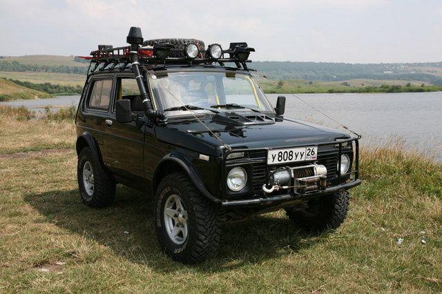 Lada Niva, Russia's equivalent for the British Range Rover!