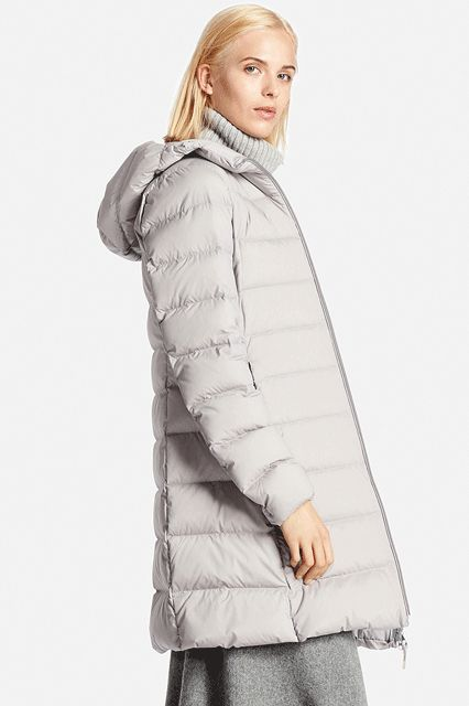 For days when the weather sucks, let this durable option be your savior. (Who doesn't love Uniqlo coats?)Uniqlo Women Ultra Light Down Stretch Hooded Coat, $99.90, available at Uniqlo. #refinery29 http://www.refinery29.com/2016/08/121401/best-down-puffer-jackets-for-women#slide-2