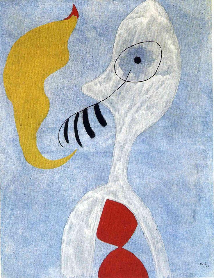 Joan Miró -Smoker head,1925