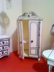 Tutorial build a mini wardrobe