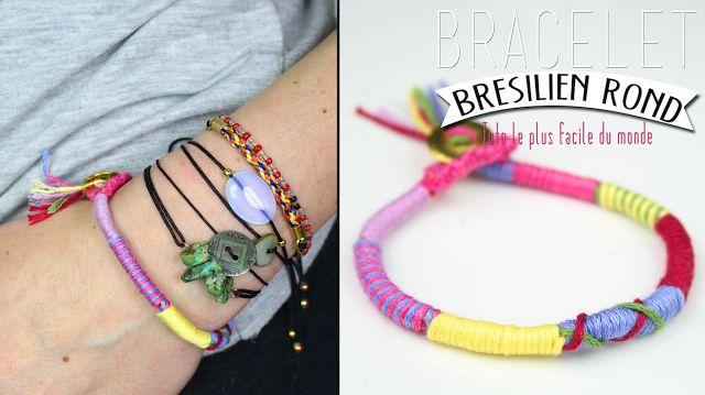 DIY : Le bracelet brésilien rond, le tuto le plus simple du monde !