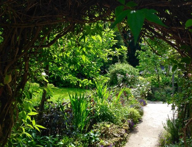 The #summer #garden at Water Meadow Cottage is looking stunning!