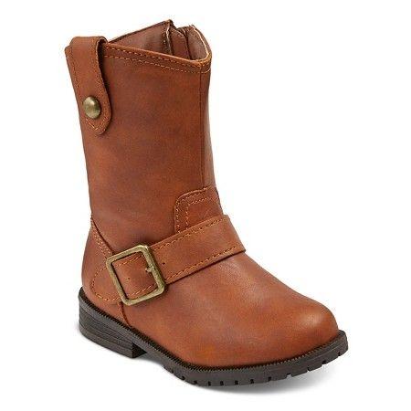 Toddler Girls' Stacie Riding Boots Cat & Jack™ - Cognac 8 : Target