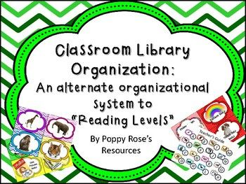 Are you interested in removing the reading levels from your classroom reading selections? This system is perfect for any class! Do you want a way for the students to still find their good fit books without the stigma of that dreaded letter level!