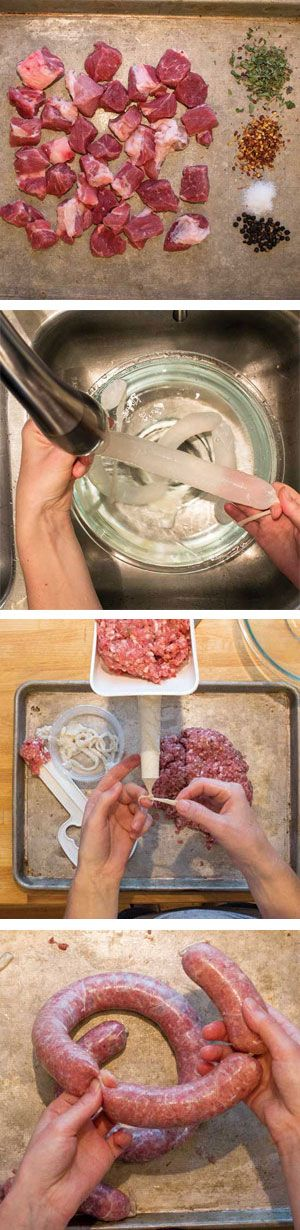 How to Make Sausage at Home: Instructions, Equipment, Recipes - has pictures, just not pinnable ones
