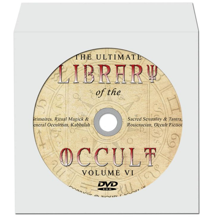 LIBRARY of the OCCULT 2700 Rare Vintage books pdf 8 DVD-Roms, Witchcraft, Magic, Theosophy, Supernatural, Esoterica by PhoenixEbooksUK on Etsy