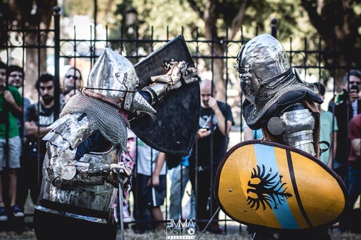 CECM HMB & Bohurt Club en la Feria Medieval Burgo del Sur V