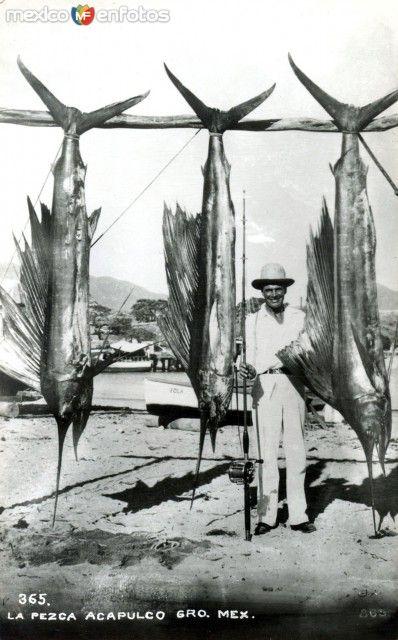 Dia de pesca Hacia 1945