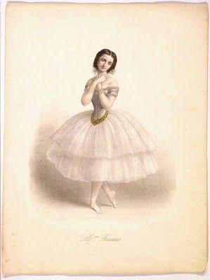 Antique Clip Art - Amazing Ballerina - The Graphics Fairy
