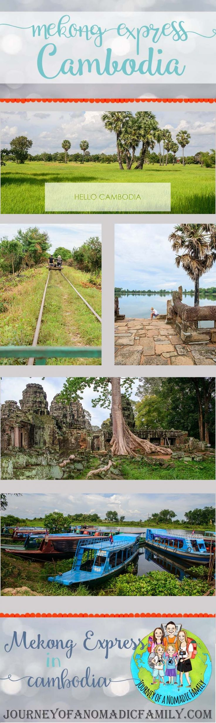 How to book the Mekong Exress from Siem Reap to Battambang in Cambodia