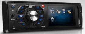 "Auto-rádio Digital HD 1-din 3"""