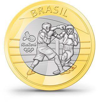 Moedas - Rio 2016 - boxe