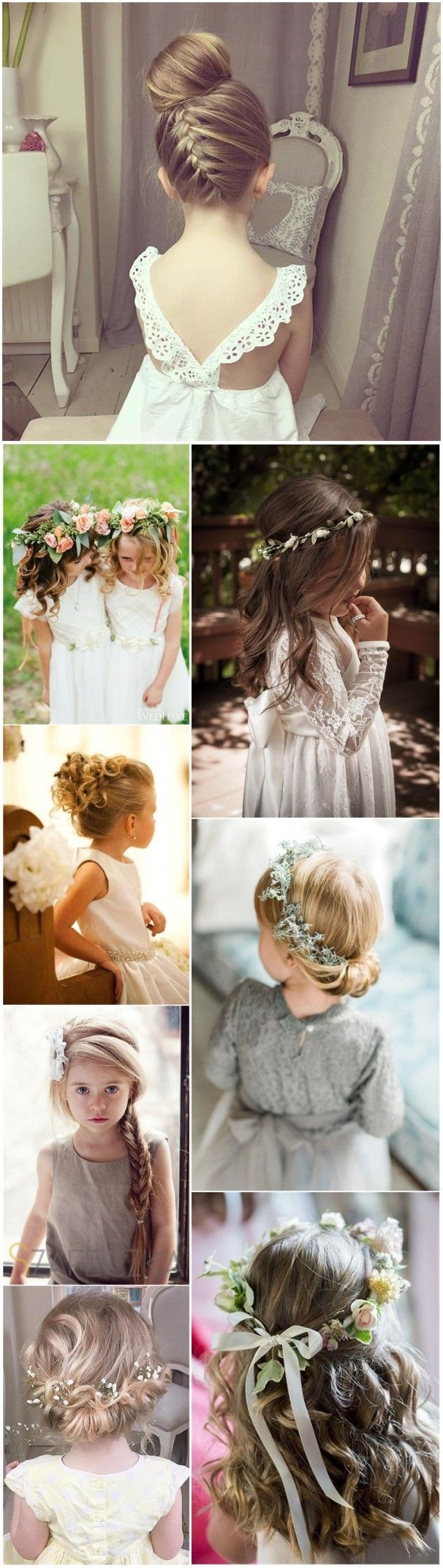 Coiffure mariage : Flower Girls » 22 Adorable Flower Girl Hairstyles to Get Inspired » ❤️ S…
