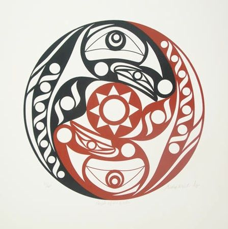 43 best pacific northwest salish and haida art images on for Native american tattoo artist seattle