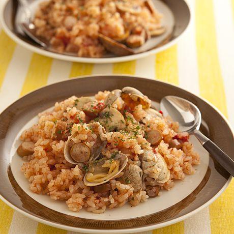 炊き込みシーフードピラフ   村田裕子さんのごはんの料理レシピ   プロの簡単料理レシピはレタスクラブニュース