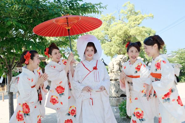 日本式・和装ブライズメイド《天姫》が可愛いすぎる♡ | BLESS【ブレス】|プレ花嫁の結婚式準備をもっと自由に、もっと楽しく 着物のブライズメイド!!和婚にもブライズメイド《天姫 あまひめ》取り入れましょう♡可愛すぎ!