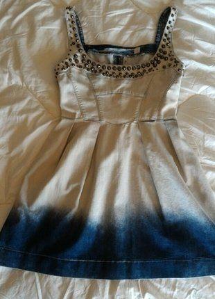 Compra mi artículo en #vinted http://www.vinted.es/ropa-de-mujer/vestidos-vaqueros/563873-vestido-vaquero-de-guess