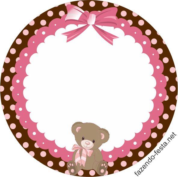 kit festa marrom e rosa latinha