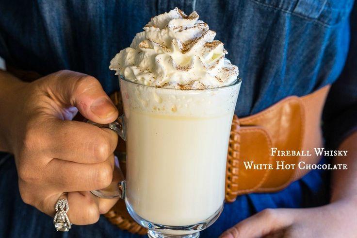 Fireball Whisky White Hot Chocolate