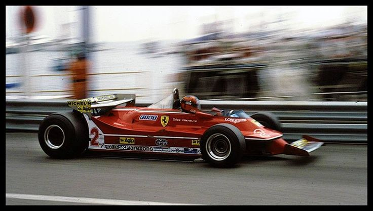 1980 Gilles Villenueve, Ferrari 315T5