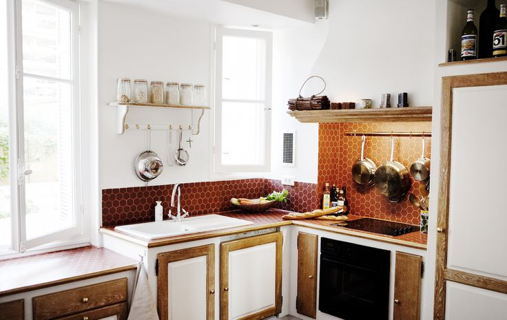 The inside kitchen with everything that is required to make a delicious French meal for family or friends