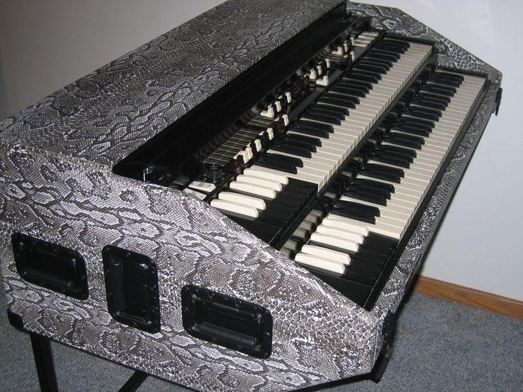Snake Skin Northern Chop Hammond Organ Portable by BB Organ