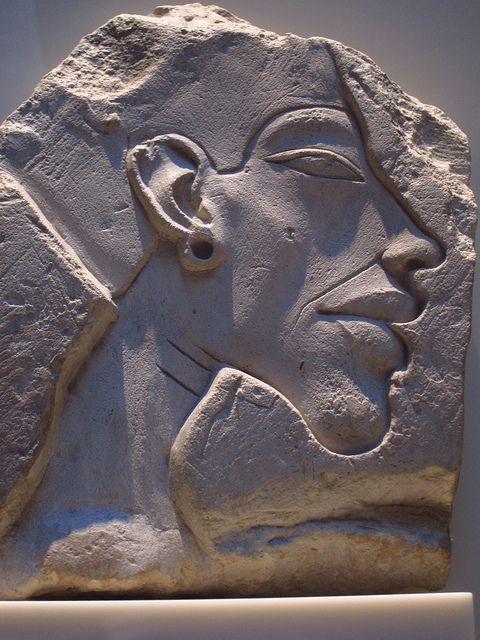 Relief Portrait of Akhenaten - Neues Museum, Berlin | Flickr: Intercambio de fotos