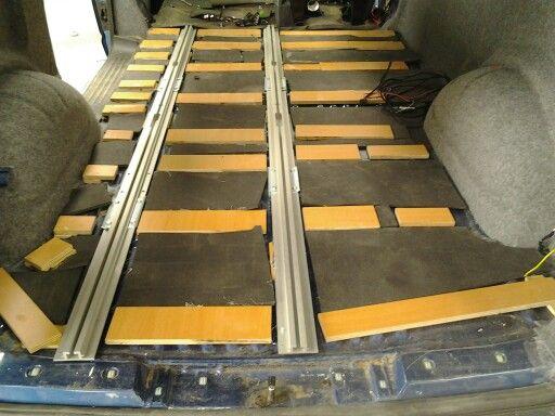 reimo 333 variotech seat rails and insulation campervan. Black Bedroom Furniture Sets. Home Design Ideas