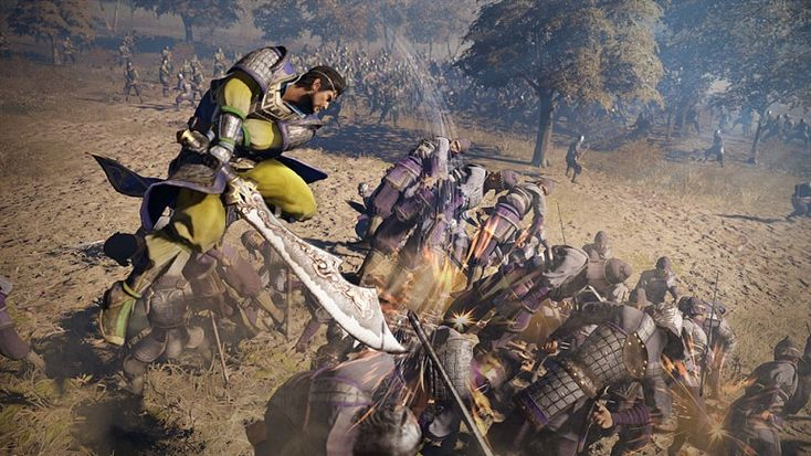 Dynasty Warriors 9 shows the first images Dynasty Warriors 9 PS4