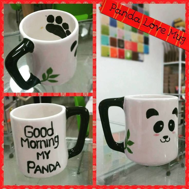 Panda Love !!! ‪#‎mugsandmugs‬ ‪#‎lovemug‬ ‪#‎coffemug‬ ‪#‎hechoencali‬ ‪#‎recreacioncali‬ ‪#‎loquemegustadecali‬ ‪#‎loquesabemoshacer‬ ‪#‎gentecali‬ ‪#‎ilovepottery‬ ‪#‎panda‬ ‪#‎cafepintado‬