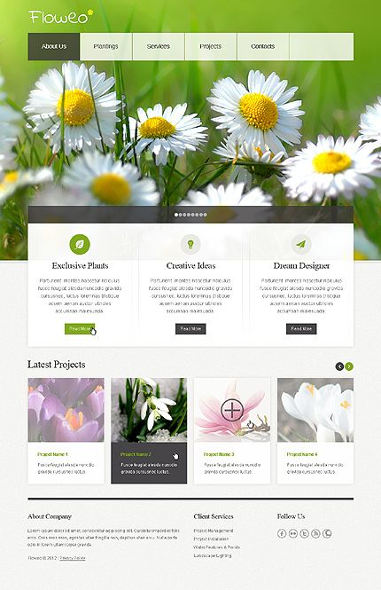 Garden Design Website Ideas Prepossessing 15 Best Landscape Design Website Design Images On Pinterest . Decorating Design