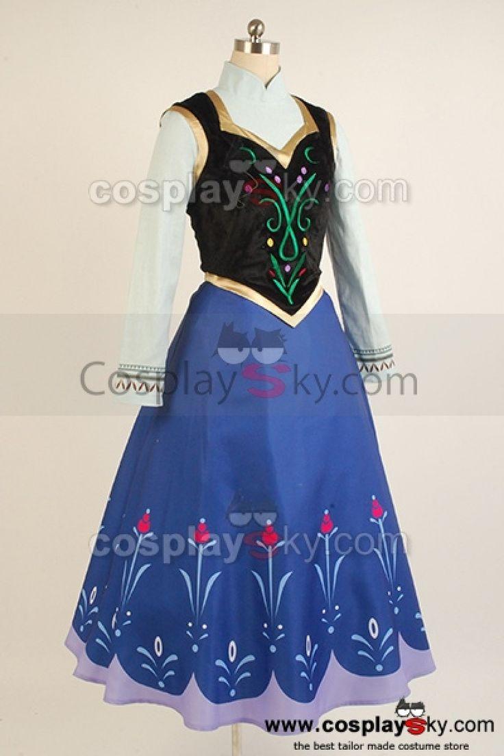 2013-Disney-Film-Frozen-Princess-Anna-Cosplay-Costume-7