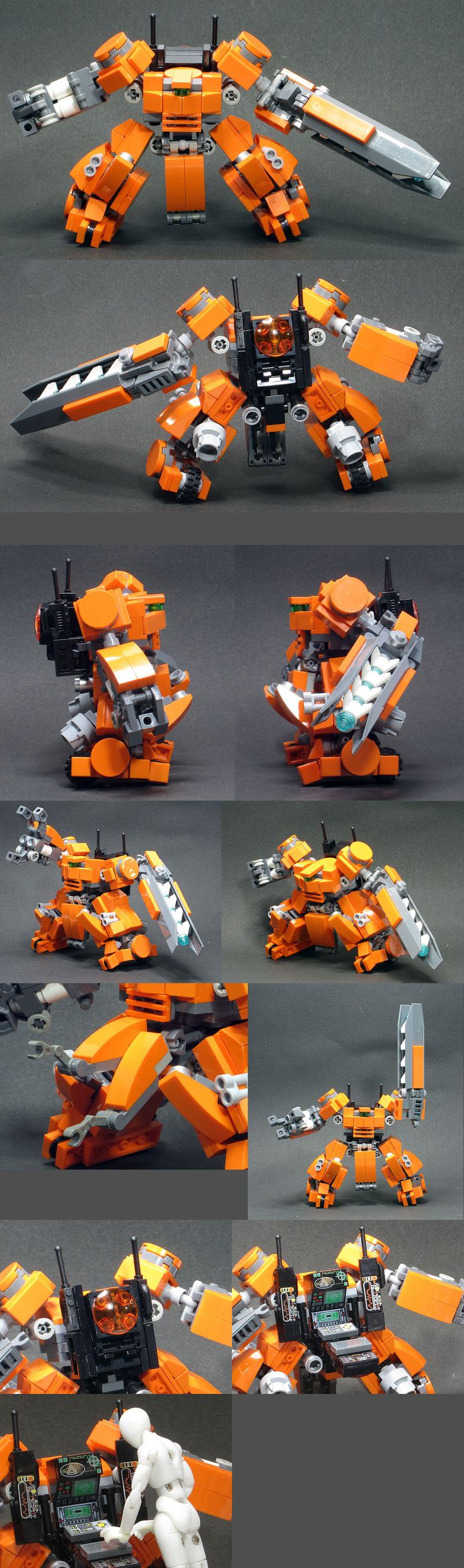 more awesome lego mechs