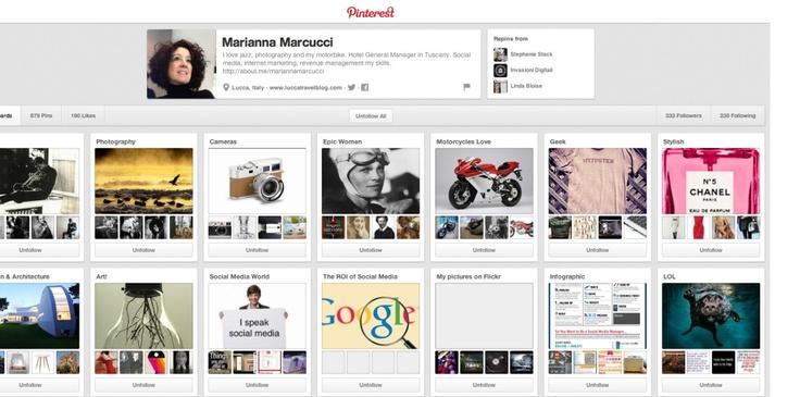 Come utilizzare Pinterest per promuovere il proprio Brand. #SocialMedia