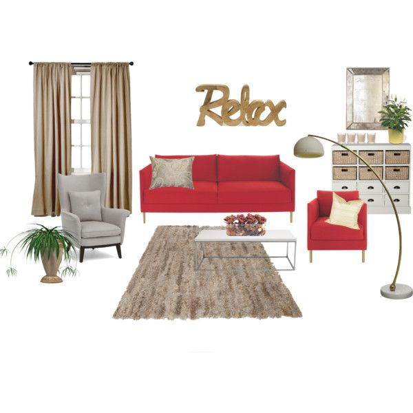 """Relax living room"" by viktoria-vepy on Polyvore"