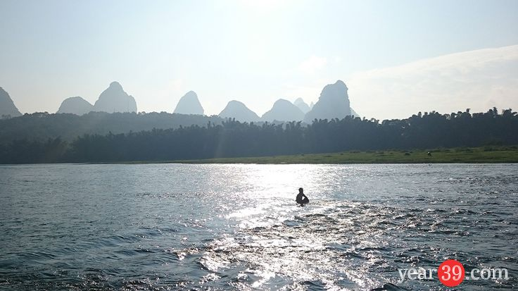 Morning River Walk in YangShuo | Mark Baker – Year 39