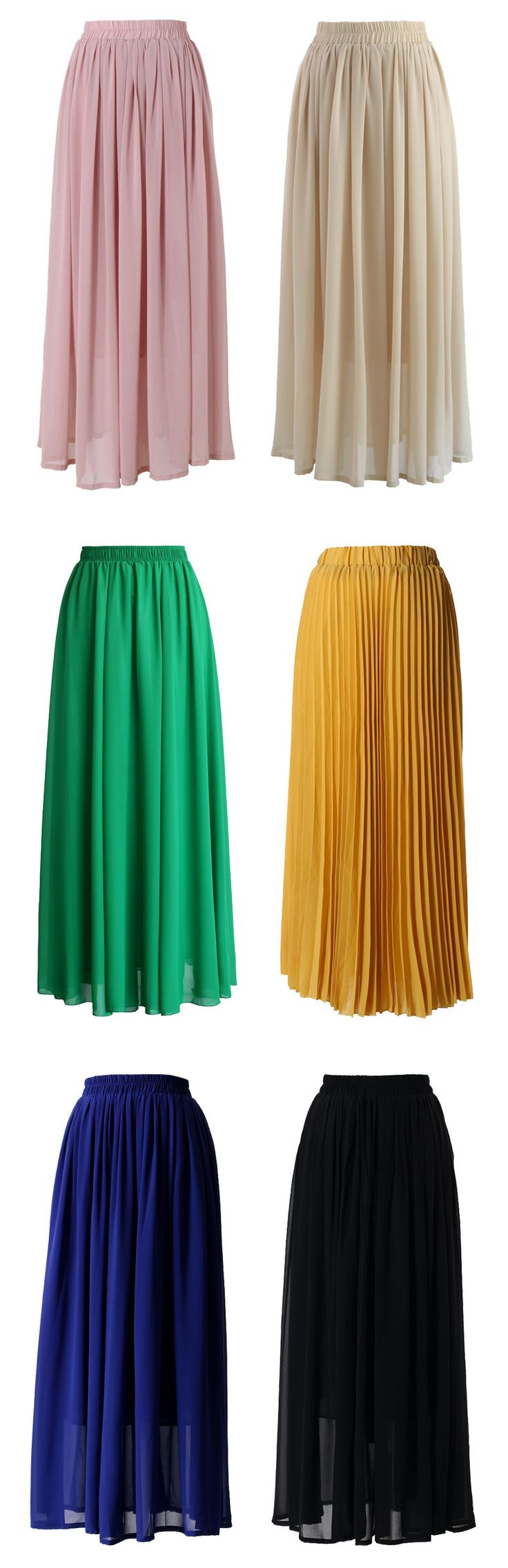 Maxi Skirt Collection