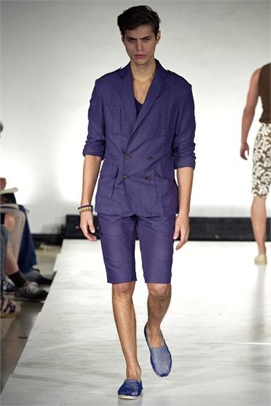 Sfilata John Bartlett Milano Moda Uomo Primavera Estate 2013 - Vogue