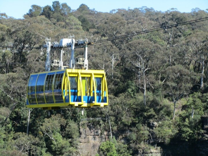 Cable car at Scenic World, Katoomba, Australia