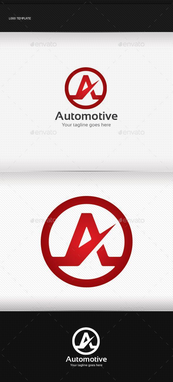 Automotive Logo #graphicriver