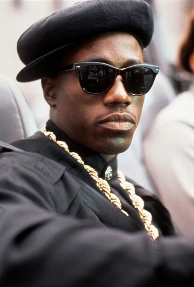 Nino Brown, loved to hate him. I had the Kangol, the Caterpillars the lot!!!