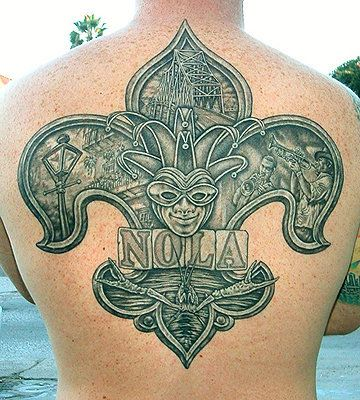 New Orleans Tattoo by Rob Hingle