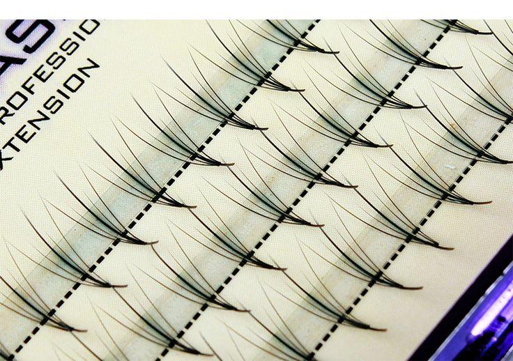 5D + Pteris nuvole capelli FAI DA TE tue ciglia innestate impianto singolo cluster piantare ciglia finte capelli piatto 0.07 buqi