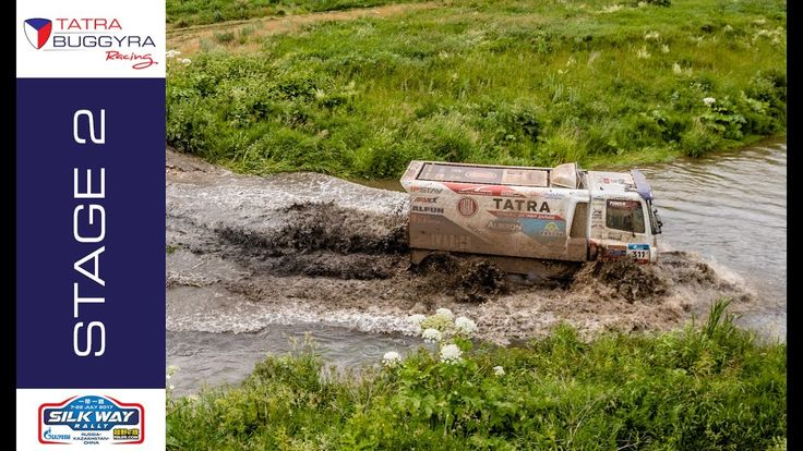 TATRA BUGGYRA RACING on SILKWAY 2017 - Stage 2