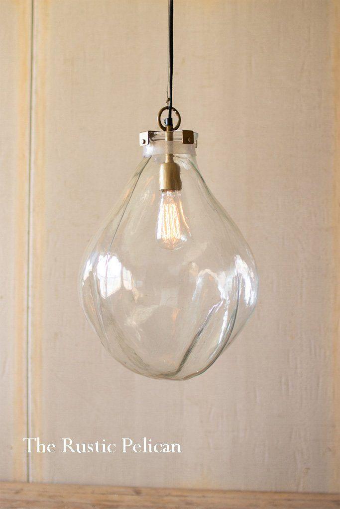 Free Shipping Modern Farmhouse Glass Pendant Light Diy Pendant