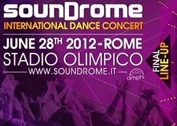 28 giugno 2012 - SounDrome!  Con Carta Giovani sconto sul biglietto!  http://cartagiovani.it/news/2012/06/19/soundrome-international-dance-concert