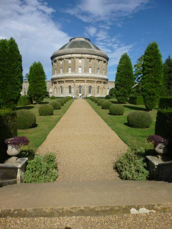 Ickworth House in Suffolk, England built in the 1790s for Bishop of Londonderry Frederick Hervey